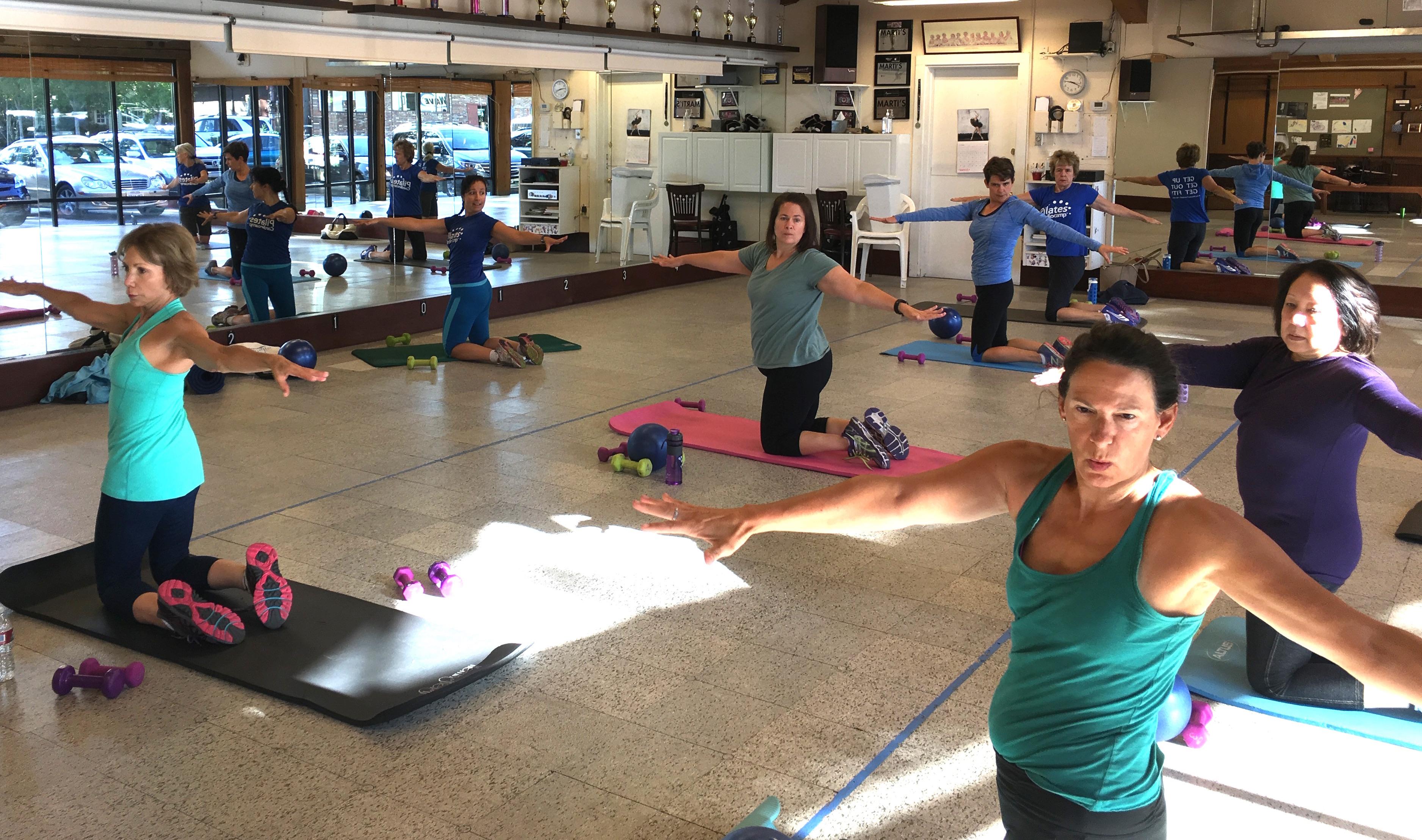 Pilates Rotation